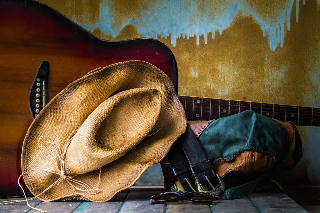 hat-and-guitar